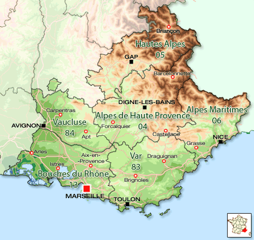 Regiunea franceza Provence