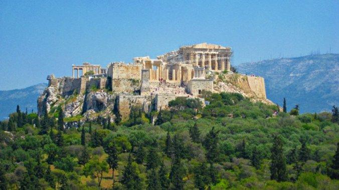 Acropola Atenei azi