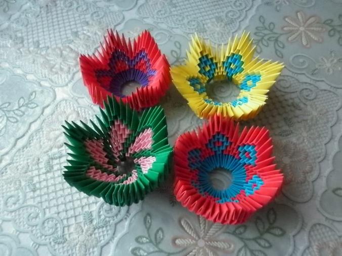 origami suport de ou mai multe modele si culori