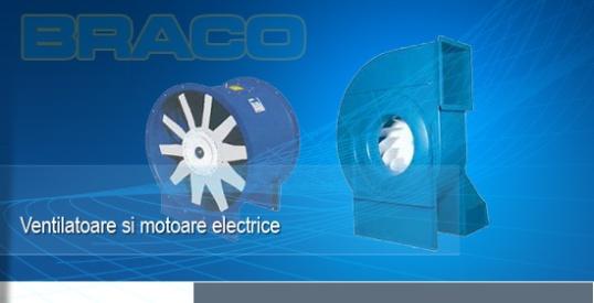 Ventilatoare industriale si motoare electrice